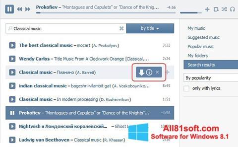 Ekran görüntüsü SaveFrom.net Windows 8.1